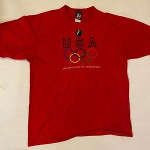 Vintage 90s Team USA Olympics Graphic Shirt - USA